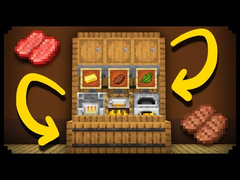 ✔ Making An Easy Auto-Smelter In Minecraft