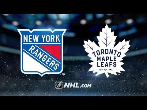 New York Rangers Vs. Toronto Maple Leafs | NHL Game Recap | October 7, 2017 | HD