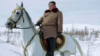 Kim Jong Un mounts horse to signal policy change