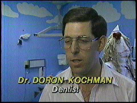 Strange 80's Children's Dentist and Me on Local News