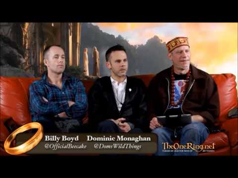 Billy Boyd and Dominic Monaghan: Interview by TheOneRing 2/2