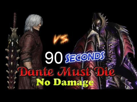 Devil May Cry 5 Dante must die No Damage Cavaliere Angelo in 90 Seconds thumbnail