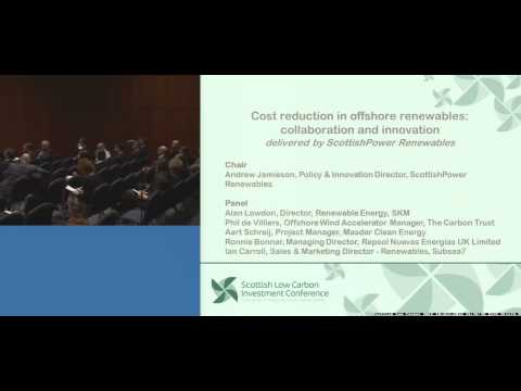 Cost Reduction in Offshore Renewables Collaboration and Innovation