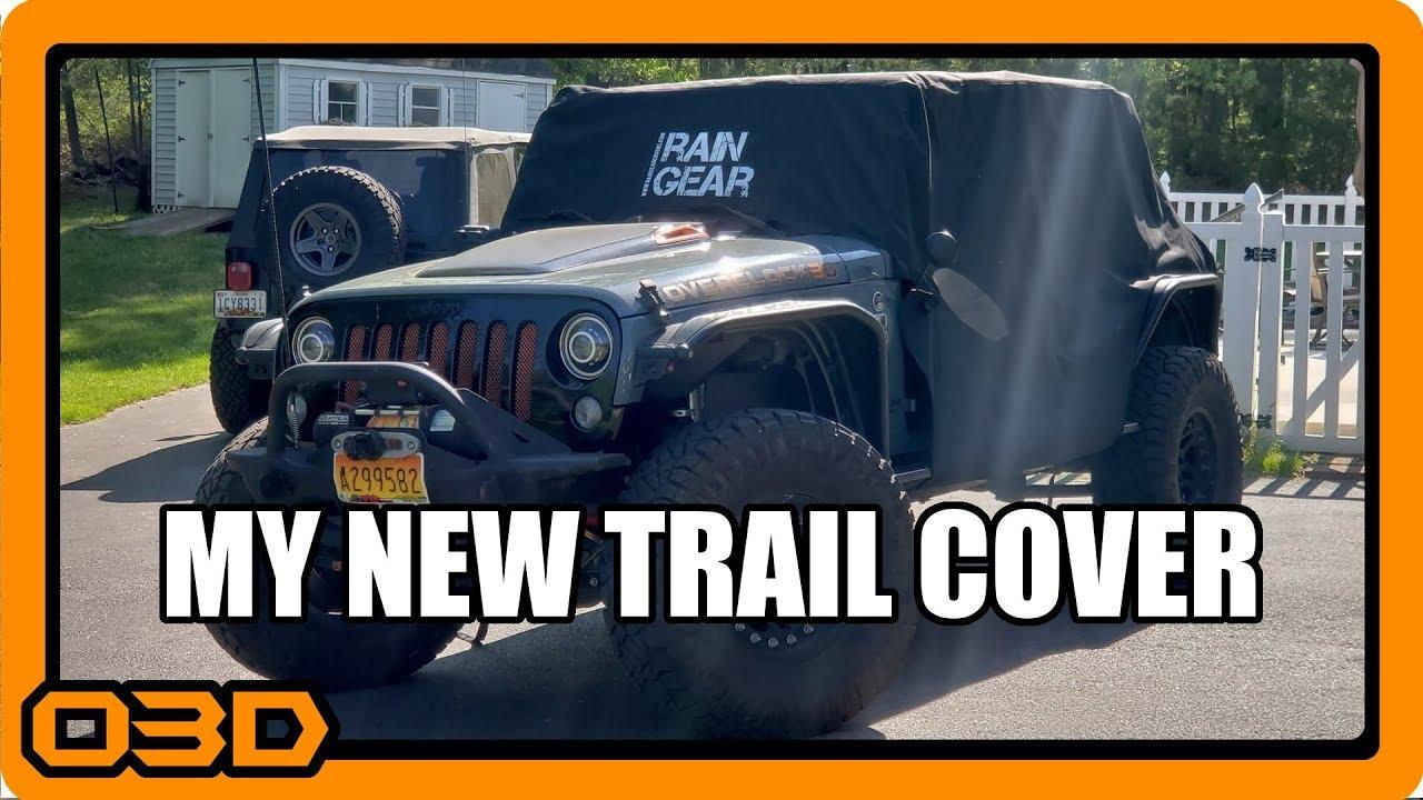 Jeep Wrangler Rain Cover >> Rain Gear Covers Jeep Wrangler Trail Cover - Timed ...