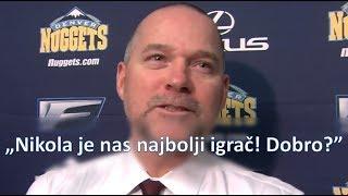 Nuggets Coach Mike Malone Speaks Serbian: