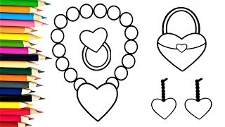 How to Draw Hearts for Baby   Drawings and Coloring Book for Kids Heart Shape Coloring Pages