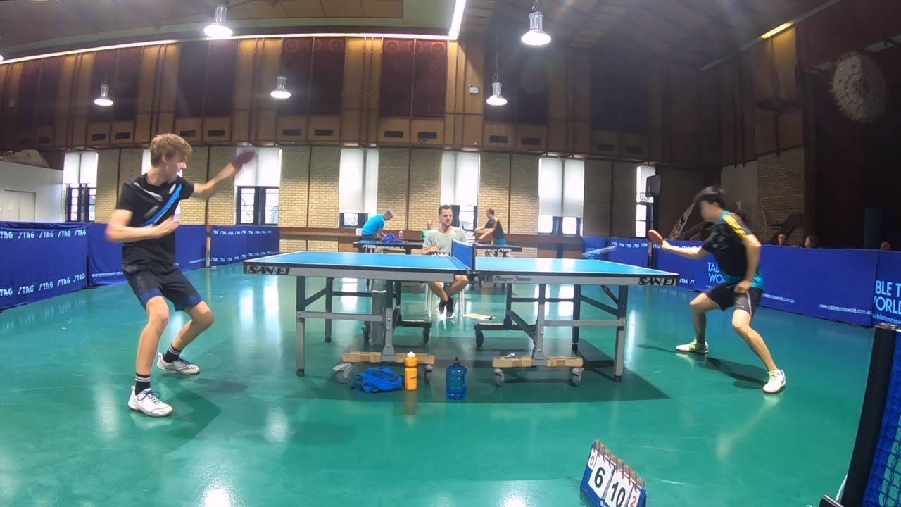 Table Tennis Club Final - Nick Rudd vs Andrew Chee