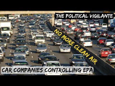 Trump Dismantling Obama's Auto Pollution Regulations — The Political Vigilante