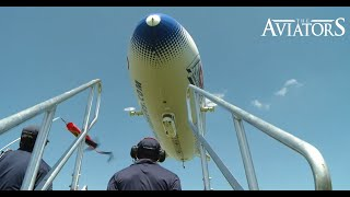 A scenic 'flight-seeing' trip in the Airship Venture Zeppelin NT
