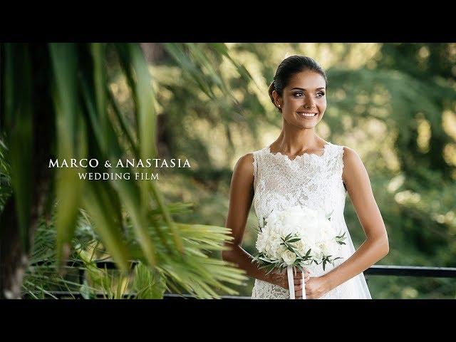 Marco & Anastasia. Wedding Film. Italy - Rome. Villa Dino