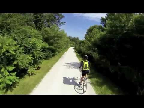 Exploring Illinois on bike trails
