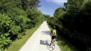 Exploring Illinois on bike trails