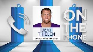 Vikings WR Adam Thielen Talks the Team's Win Streak, QB's & More w/Rich Eisen | Full Interview