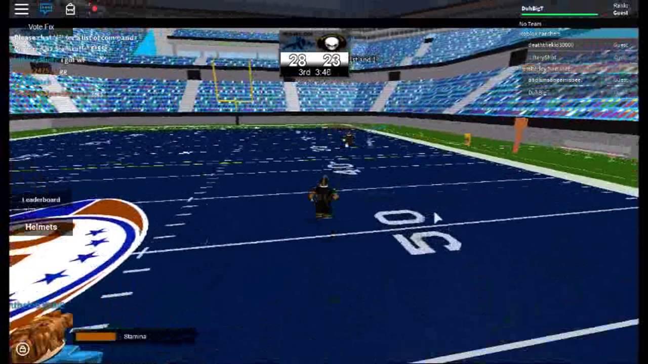 Ofl Football On Roblox Qb Mvp Game Youtube - roblox ofl