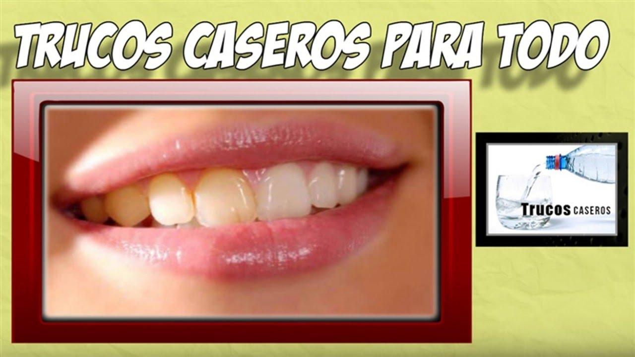 Como limpiar los dientes amarillos remedios caseros for Como desmanchar el marmol blanco