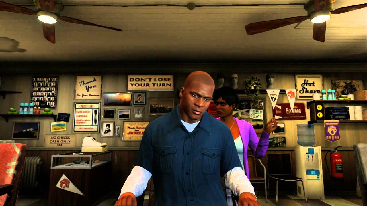 Gta V Franklin Haircuts 4k Pictures 4k Pictures Full Hq Wallpaper