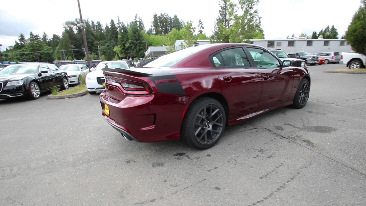 2017 Dodge Charger R T Daytona Edition Octane Red