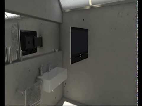 TV MOVING MLWF - Staffa TV motorizzata da parete  Motorized TV Wall Bracket ...