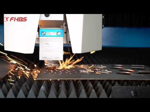F3015HDE - Baisheng Laser - A Máquina Premiada Top 10 ! Laser Fibra para Corte de Metal.
