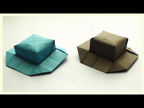 Easy Paper Hat Craft for Kids and Beginners