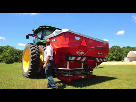 KUHN Axis® .2 Series Precision Fertilizer Spreader Product Review by Brandon Pfeuti