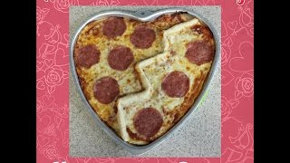 CREEPS & TREATS Anti-Valentine's Day Heartbreak Pizza