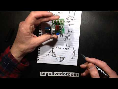 Reverse engineering of a mains power controller.