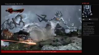 """God of war 3 matando """"Part 1""""A  Morte de Poseidon"""" remaster"""