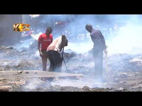 Wafanya biashara waanza kujenga upya vibanda baada ya mkasa, Gikomba