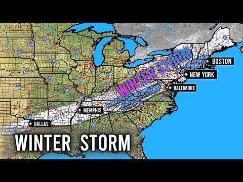Very Interesting Snowstorm This Week