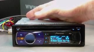 Обзор автомагнитолы Pioneer DEH-5200SD (2010 г)
