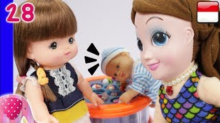 Mainan Boneka Eps 28 Adik Bayi Pulang - GoDuplo TV