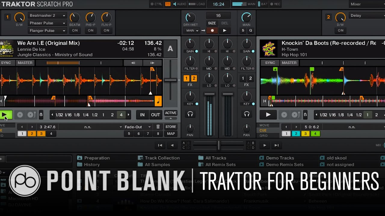 Traktor DJ Tutorial: Traktor for Beginners Part 1 - YouTube