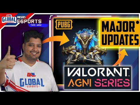 Esports This Week : PUBG Mobile Patch 0.19.5, PMWL Updates, Valorant Agni Series & Killjoy Meta! from YouTube · Duration:  6 minutes 35 seconds