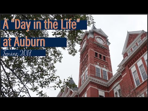 A Day in the Life at Auburn University - Spring 2017