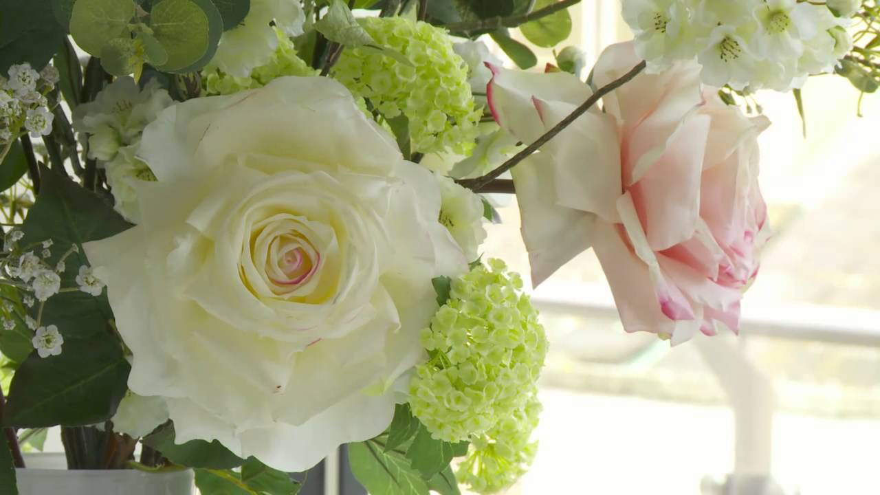 Silk ka spring floral arrangements youtube mightylinksfo
