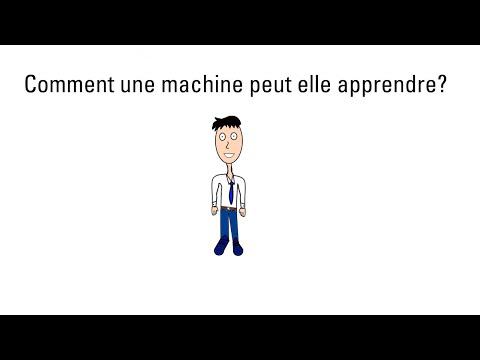 Comment une machine peut elle apprendre ?