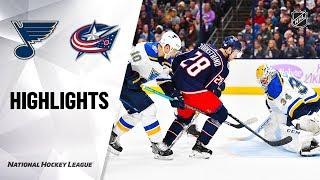 NHL Highlights   Blues @ Blue Jackets 11/15/19