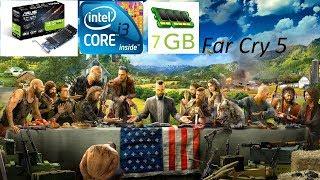 Far Cry 5 I Nvidia GT1030 I Intel Core I3 I 7GB Ram
