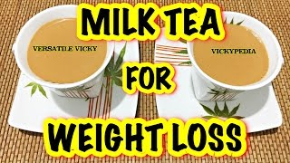 Weight Loss Chai Tea Hindi | Milk Tea for Weight Loss | Lose 10KG in a Month | Masala Chai Recipe