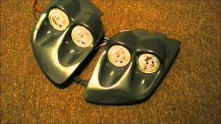shadow racer custom quad halo headlight conversion kits for toyota mr2 and mitsubishi 3000gt gto
