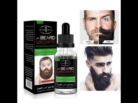 زيت نمو الشعر اللحية الأصلي زيت اللحية Beard Growth Youtube
