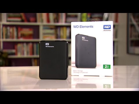 The WD Elements portable drive is a great deal