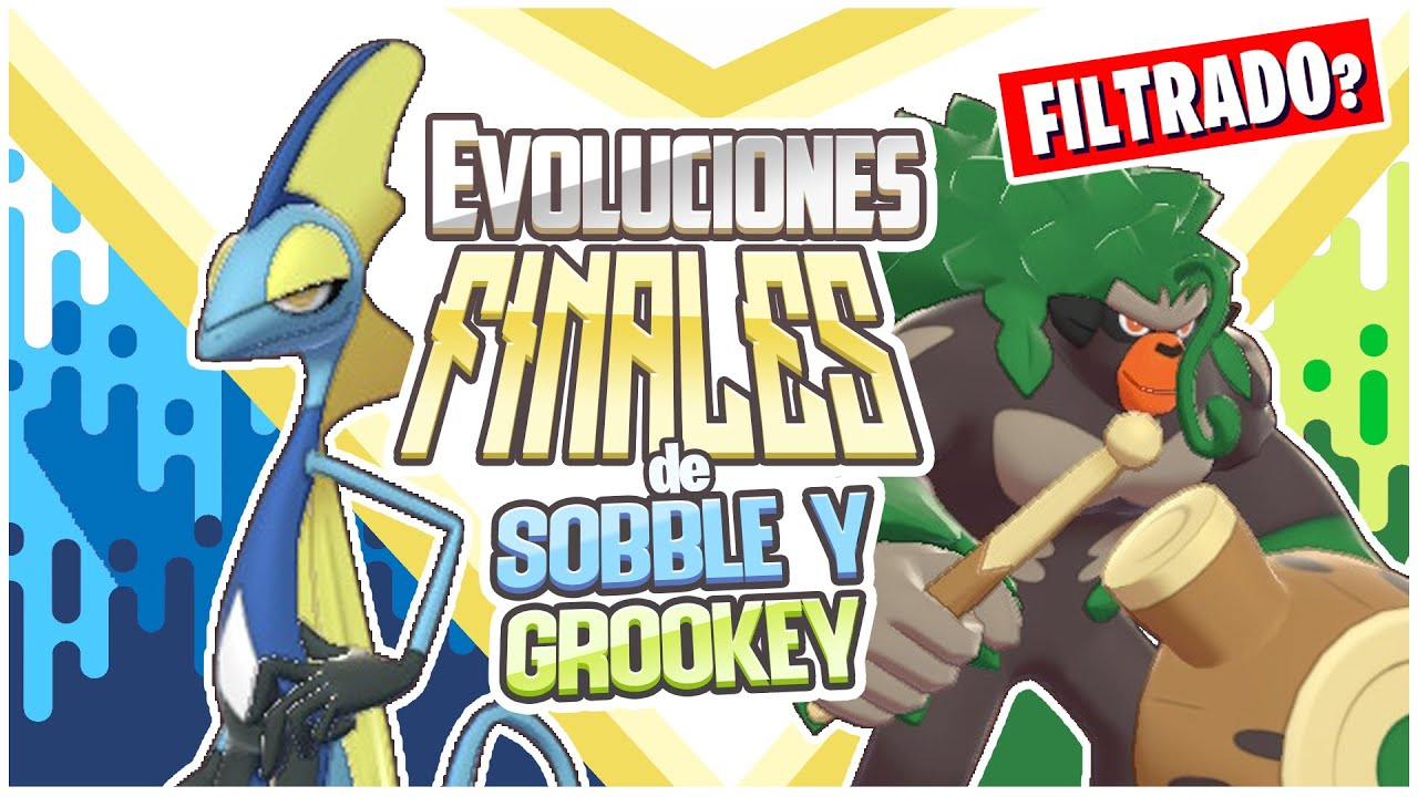 Real Evoluciones Finales De Grookey Y Sobble Pokemon Espada Y Escudo Youtube Pokédex entry for #810 grookey containing stats, moves learned, evolution chain, location and more! real evoluciones finales de grookey y sobble pokemon espada y escudo