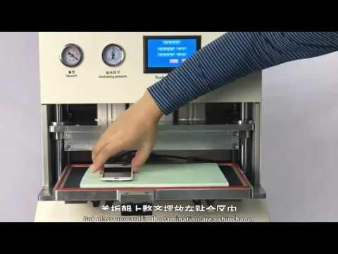 TBK 908  iphone samsung edge phone screen repair machine