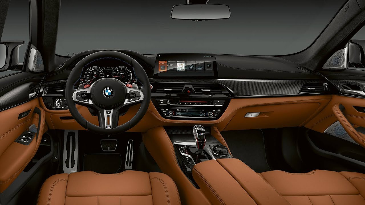 2019 Bmw M5 Competition F90 Sedan Interior