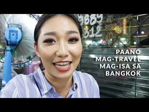 Traveling Alone in BANGKOK | Raiza Contawi
