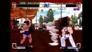 Fatal Fury: Wild Ambition (PlayStation) Arcade as Joe Higashi