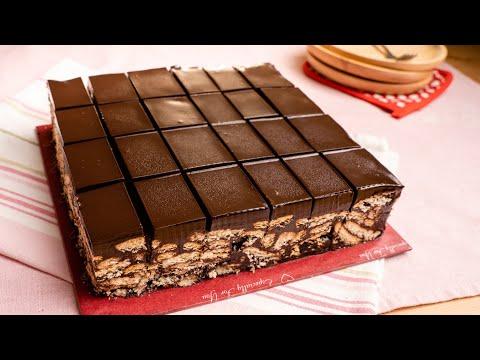 KEK BATIK Coklat Ganache | Sedap Sampai Nak Pengsan :-P
