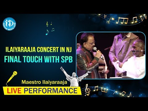 Ilaiyaraaja Concert in NJ Final touch with SPB on February 23, 2013